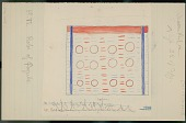 view George Miller drawing of painted blanket of Caqube, 1889 digital asset number 1