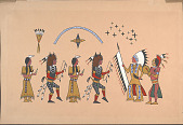 view Buffalo Dance n.d. Painting digital asset number 1