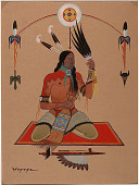 view Medicine Man n.d. Painting digital asset number 1