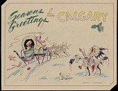 view Seasons Greetings from Calgary n.d. Drawing digital asset number 1