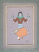 view Masked Dancer Painting digital asset: Masked Dancer Painting
