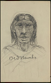 view Old Navaho n.d. Drawing digital asset number 1