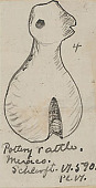 view Mexican Pottery Rattle n.d. Drawing digital asset number 1