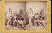 "view ""Big Bow, Chief of the Kiowa Indians, and party"" digital asset number 1"