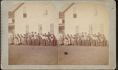 """view """"Indian children at Quapaw Mission, Indian Territory"""" digital asset number 1"""