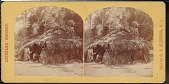 view Camp scene of Indians outside a dwelling digital asset number 1