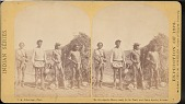 """view """"Apache braves ready for the trail, near Camp Apache, Arizona"""" digital asset number 1"""