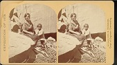 "view ""Navajo Indian squaw, and child, at their home in Canon de Chelle"" digital asset number 1"