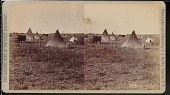 """view """"Sioux camp in suburbs of Yankton"""" digital asset number 1"""