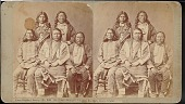"""view """"Ute chiefs Warency, Chavano, Ancatosh, Ouray, and Guerro"""" digital asset number 1"""