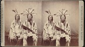 "view ""First and second chiefs of the Mandans"" digital asset number 1"
