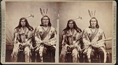view Minniconjou chiefs in council costume digital asset number 1