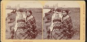 view Chippewa woman with baby in cradleboard digital asset number 1