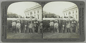 view Dakota and Crow Indian chiefs with President W.G. Harding digital asset number 1