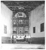 view Inside of the church at Acoma digital asset number 1
