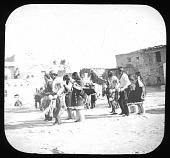 view Dancers in a pueblo village digital asset number 1