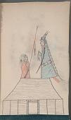 view Book of Arikara drawings by anonymous artist digital asset: Book of Arikara drawings by anonymous artist