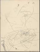 view Anonymous Lakota student drawing of circles and doodles digital asset: Anonymous Lakota student drawing of circles and doodles