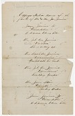 view List of Cayuga Indian names of the family of Mr and Mrs Jas. Jamieson digital asset: List of Cayuga Indian names of the family of Mr and Mrs Jas. Jamieson
