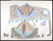 view Eskimo drawing and prints digital asset: Eskimo drawing and prints
