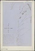 view Anonymous Assiniboine map of north side of Missouri River from Fort Union to Fort Benton digital asset: Anonymous Assiniboine map of north side of Missouri River from Fort Union to Fort Benton
