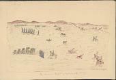 view Tichkematse drawings of Cheyenne life, 1879 digital asset number 1
