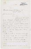 view MS 3846 Letters to John B. Dunbar digital asset: Letters to John B. Dunbar