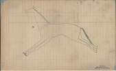 view Anonymous Lakota unfinished drawing of a horse digital asset: Anonymous Lakota unfinished drawing of a horse