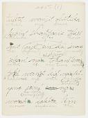 view Lakota texts by George Bushotter, Stories 241-259, 1887 digital asset number 1
