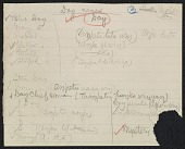 view Siouan personal names, arranged according to symbolic elements 1892 ? digital asset number 1