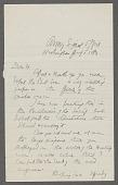 view General correspondence ca. 1870-1895 digital asset number 1