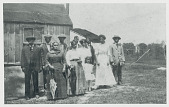 view A group of Indians and Negroes who attended the June Meeting Jun 1912 or 1913 digital asset number 1