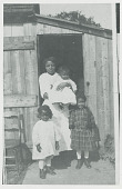 view A woman and three children of the Poosepatuck tribe ca 1906 digital asset number 1