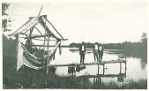 view The dock and net wheel at Poosepatuck Jun 8 1913 digital asset number 1