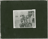 view Group of four Cheyenne men and four boys before 1900 digital asset number 1