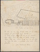view John Whirlwind Horse drawing of and essay about the student's home digital asset: John Whirlwind Horse drawing of and essay about the student's home