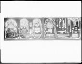 view Jicarilla Apache war clubs, lances, shields, and two scalp specimen 1904 digital asset number 1