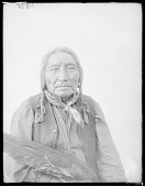 view Front view of Chief Little Raven. Oklahoma before 1912 digital asset number 1