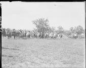 view Group of Apache Indians on horseback 1904 digital asset number 1