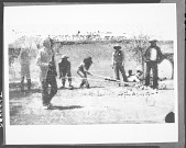 view Apache men playing hoop and pole game 1903 digital asset number 1