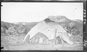 view Apache house of brush and canvas. 1903 digital asset number 1