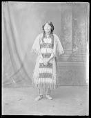 view Full length view Indian girl. St Louis, Missouri 1904 digital asset number 1