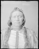 view Chief Black Coyote (front bust) 1904 digital asset number 1