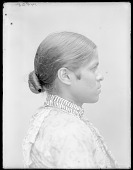 view Side view of Indian maiden ca 1904 digital asset number 1