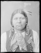 view Front view of Wichita Anadarko Indian. Oklahoma 1904 digital asset number 1