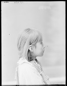 view Side view of Indian child ca 1904 digital asset number 1