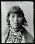 view Front view, Indian child 1904 digital asset number 1