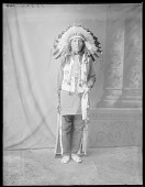 view Dakota man, U. S. Indian School, St Louis, Missouri 1904 digital asset number 1
