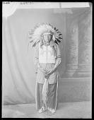 view Dakota Rosebud man, Charges Twice, U. S. Indian School, St Louis, Missouri 1904 digital asset number 1