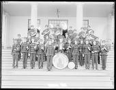 view Indian School band. St Louis Indian School Exhibit, World's Fair, St Louis, Missouri 1904 digital asset number 1